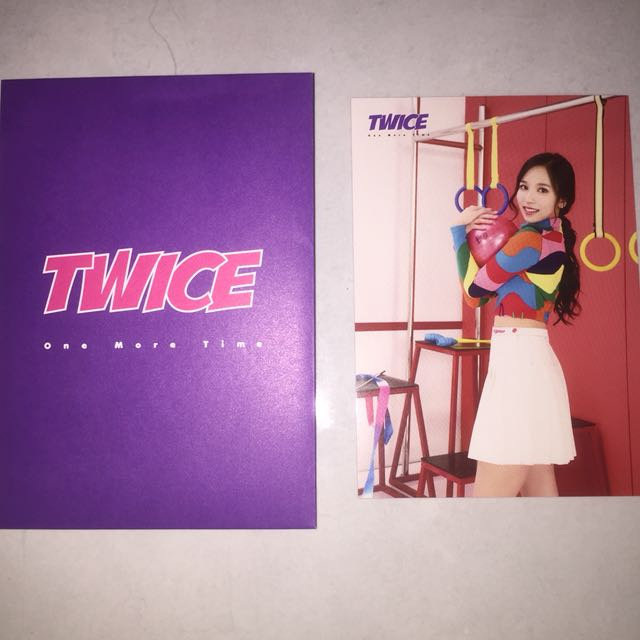 WTS TWICE MINA ONE MORE TIME JAPAN RANDOM TRADING CARD