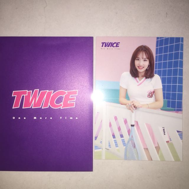 WTS TWICE NAYEON ONE MORE TIME JAPAN RANDOM TRADING CARD