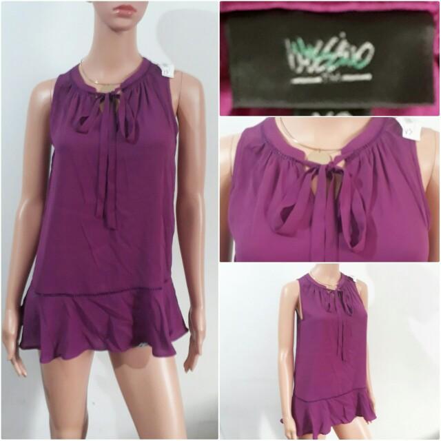 (XS-S) Mossimo purple top