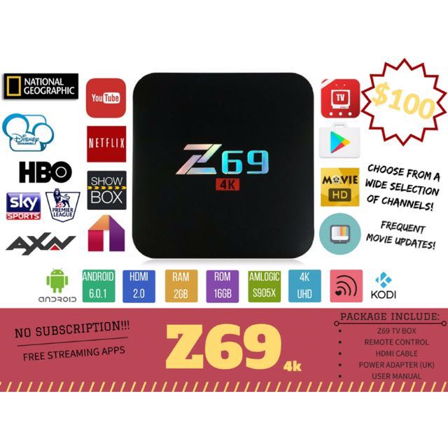 Z69 android tv box
