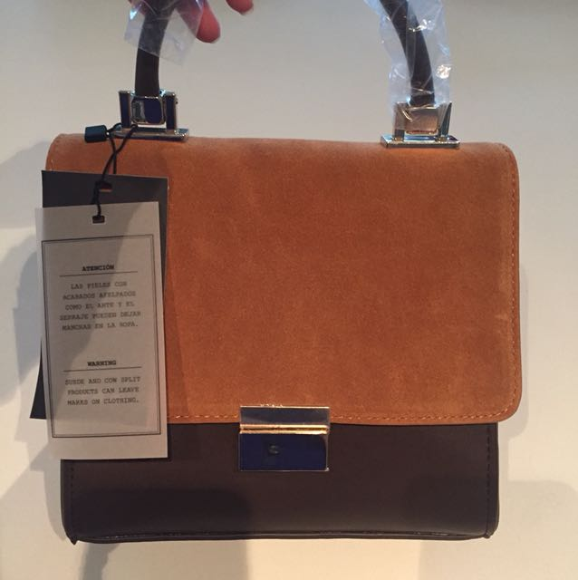 Zara Box Side Purse