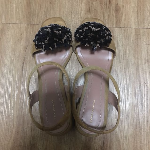 Zara Chunky Heels