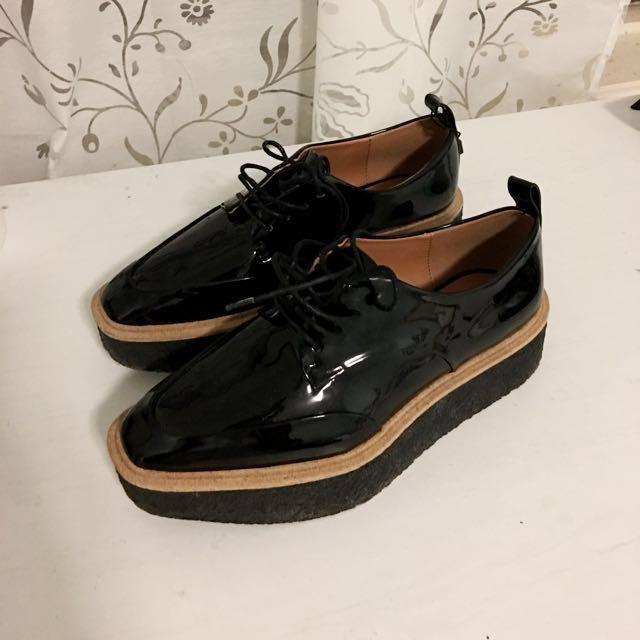 5d2f7ecbdc2 Zara Platform Derby Shoes