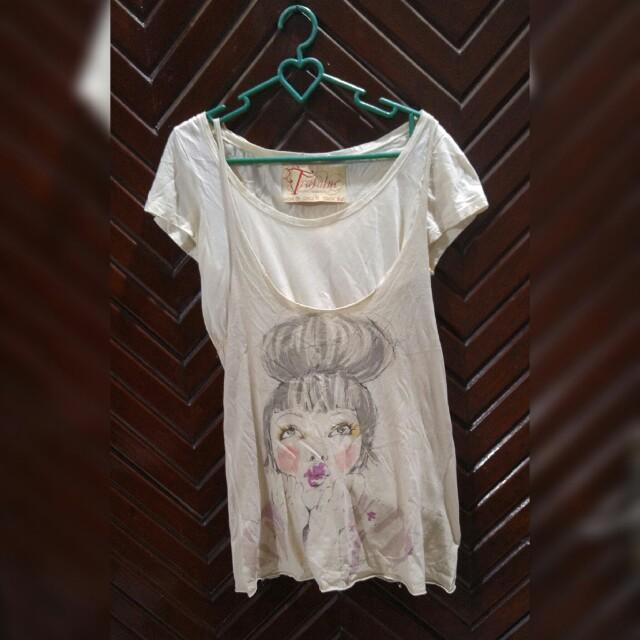 Zara shirt vintage