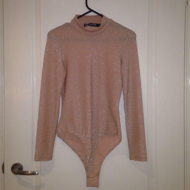 Zoo Clothing Sparkley Pink Bodysuit