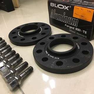 BLOX wheel spacer 15mm 74.1 PCD 120x5