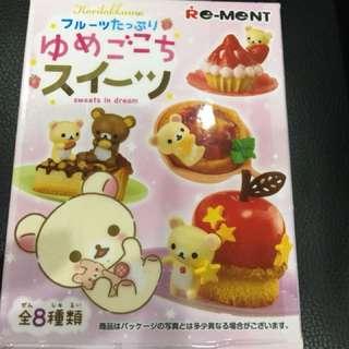 🚚 懶懶熊 拉拉熊 盒玩 懶懶熊水果點心時光 日本帶回 已拆盒