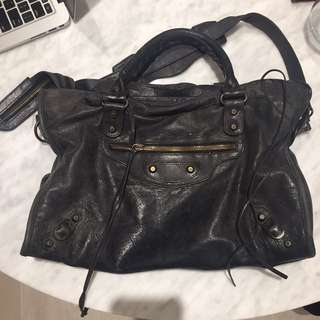 Old Balenciaga City Bag (Classic Black)