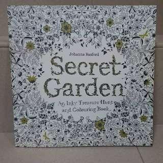 [Pre 12.12 Flash Sale]Secret Garden by Johanna Basford colouring book