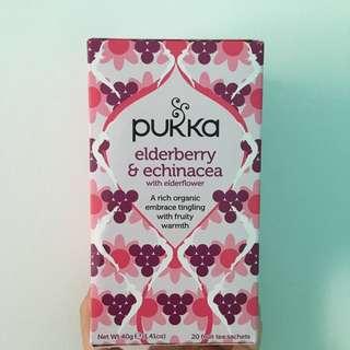 [有機茶包]PUKKA | 椄骨木花茶