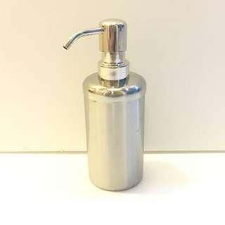 🚚 高值感304不鏽鋼形乳液罐(砂面桶身)