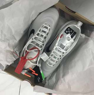 Nike AIR MAX 97 OFF-WHITE 9.5