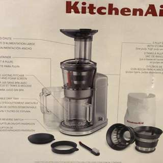 Sealed Brand New In Package - KitchenAid Maximum Extraction Juicer