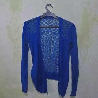 Blue Lace Cardigan