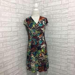 Paisley-print Dress