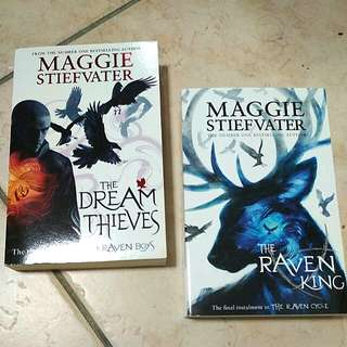 The Raven Cycle books by Maggie Stiefvater