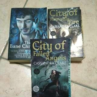 BN Cassandra Clare books