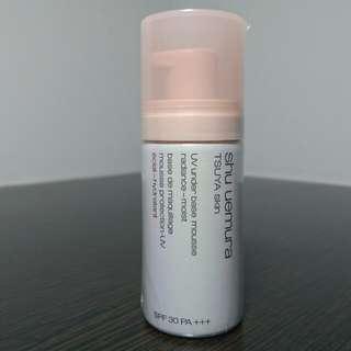 全新 植春秀 UV泡沫隔離霜(密桃色)