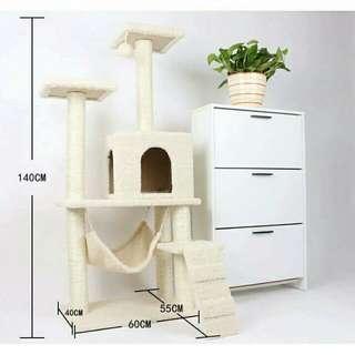 豪華型貓窩,貓抓板,貓玩具,多功能貓咪大形爬架
