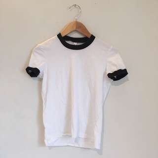 American Apparel Baseball Tee