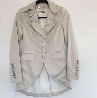 Fashion Button Jacket or coat size XS