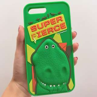 Toy Story Rex 立體Iphone case🤢