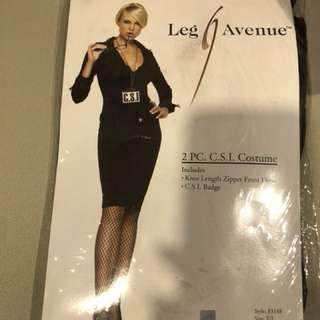 Leg Avenue 2 pc CSI costume