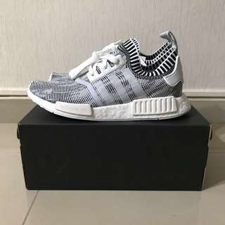 NMD R1 White Glitch Camo BY1911