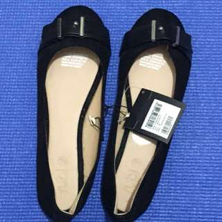 Rubi Shoes Strap Buckle Flat Size 38