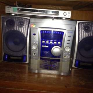 Sony DVD Kenwood Component