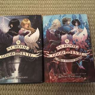The school for good and evil book 1&2