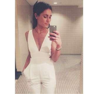 White Jumpsuit size 6