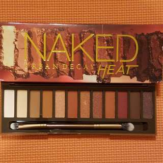 [SWAPS ONLY] Naked Heat Eye shadow Pallet | Urban Decay