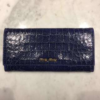 Authentic MIU MIU St. Cocco Lux wallet