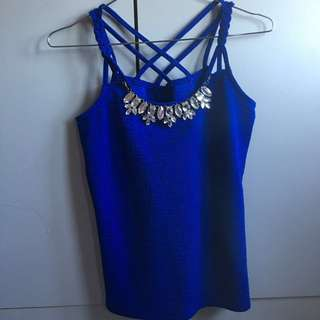 Cecil Mcbee blue top from Japan
