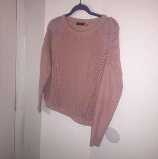 Pink Dex Sweater - S/M