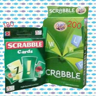 Scrabble Cards