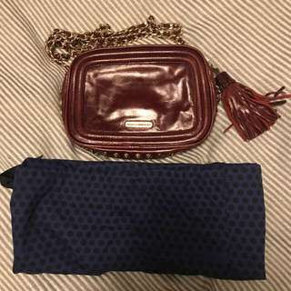Rebecca Minkoff mini purse on chain