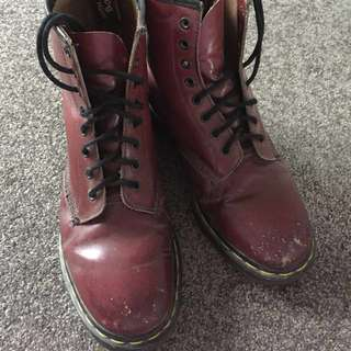 Doc Martens - Vintage - Cherry Smooth