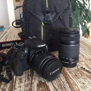 Canon 650d twin lens kit
