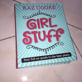 Girl stuff by Kaz Cooke