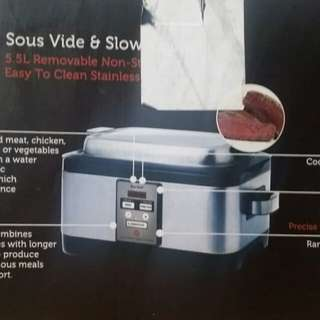 Slow cooker, sous vide