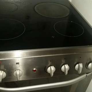 Convection oven with 3 induction stove rush sale