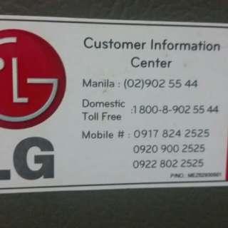 LG Refrigerator rush sale