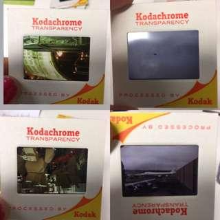 Vintage Kodak slides (pack of 8)