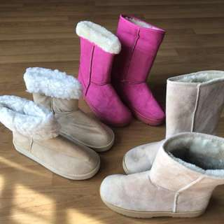 Preloved Winter Boots (Wore once)