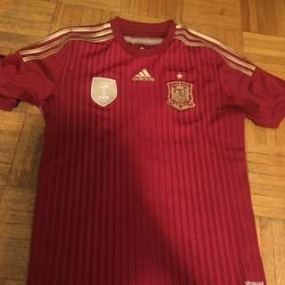 Adidas Spain FIFA world champions 2010 jerseys size XL KIDS