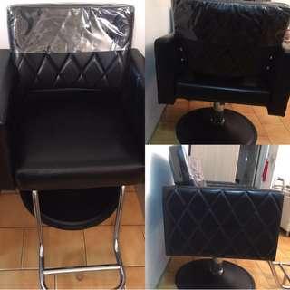 (9成新)美容椅毛髮椅,限自取