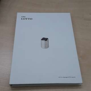 EXO Lotto Korean Version Album - No photocard
