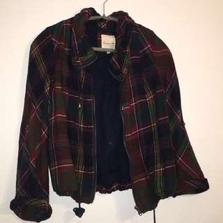 Vintage Flannel/ Light Jacket  Size L ( but fits small/ medium)